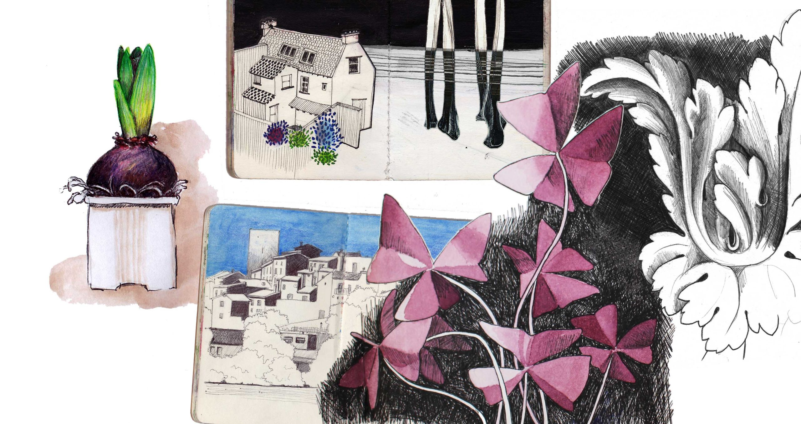 atelierba-atelier-ba-design-designer-berengere-ameslant-drome-royans-illustration-illustratrice-recueil-spectacle-musical-aquarelle-graphisme-croquis-dessin-4